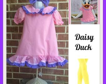 Daisy Duck dress, Daisy Duck birthday, Daisy Duck Party, Dasiy Duck outfit