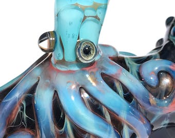 Glass Pipe  Calypso Octopus