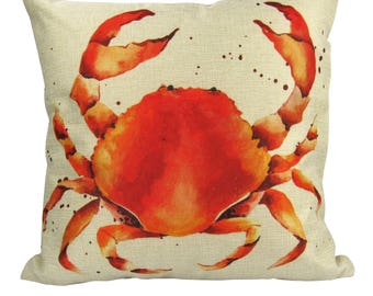 Red Crab - Pillow Cover