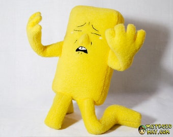 Negative Man plushie