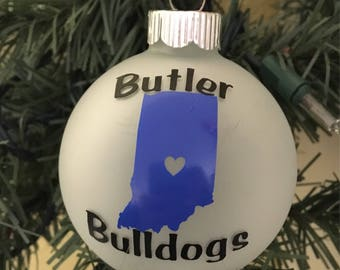 Butler University Ornament