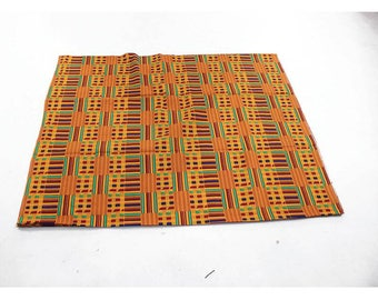African Kente Print Fabric (M'liz Riechers).