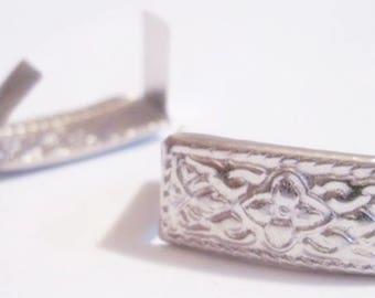 stylized rectangle nail set of 10 vintage decor