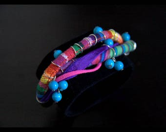Bracelet style ethnic collection