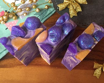 Sugar Plum Soap All Natural Soap Vegan Soap Stocking Stuffer Stocking Stuffer Christmas Gifts
