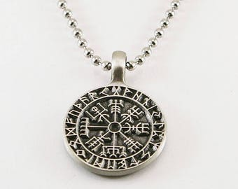 Viking compass pendant, men pendant, men necklace, pendant, viking pendant necklace, men gift,