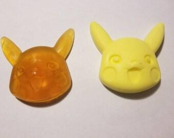 Pokemon inspired Pikachu soap