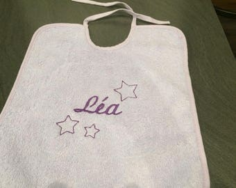 personalized bib personalized with your child's name