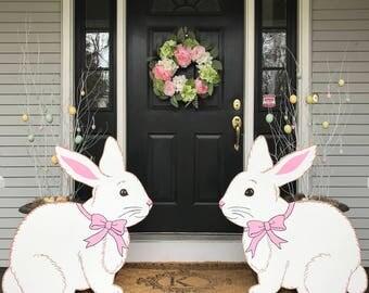 Easter Bunny Outdoor Lawn Decor