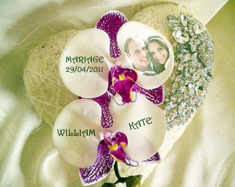 Ring bearer orchids like to customize jewelry
