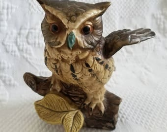 Vintage NORLEANS OWL figurine