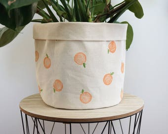 Peach X Joannie swell large planter