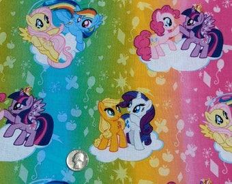 My Little Pony Rainbow Fabric