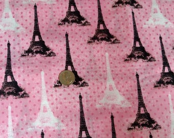 Eiffel Tower Fabric