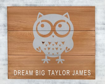Baby Owl, Baby Gifts, New Baby Gifts, Baby Shower, Signs, Home Decor, Rustic Decor, Decor, Room Decor, Wood Signs