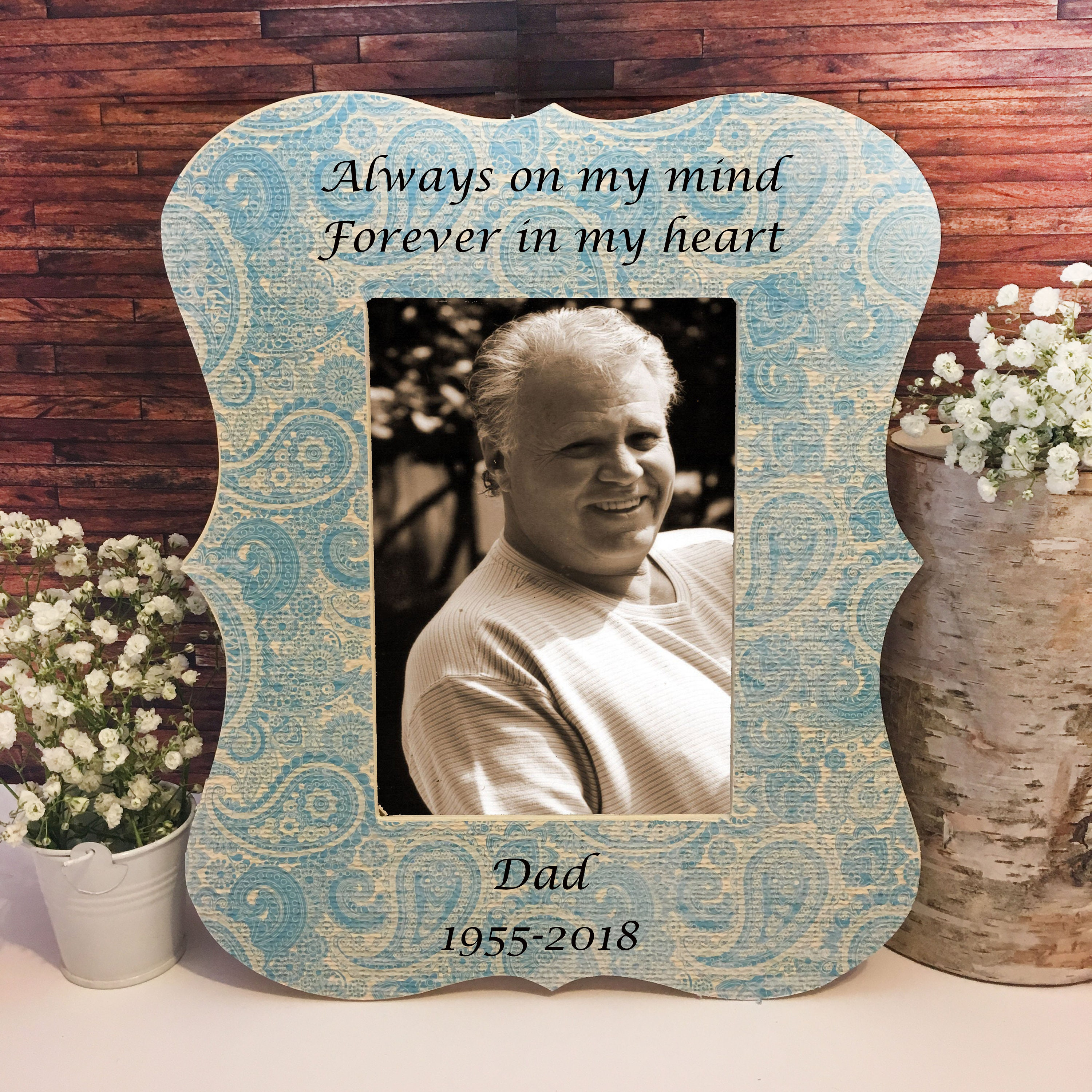 Father memorial frame sympathy gift condolences gift memorial sold by fabulousframesxo jeuxipadfo Choice Image