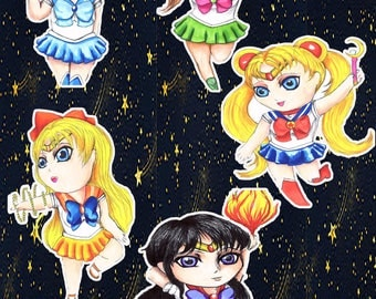 Sailor Moon Stickers!