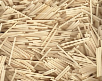 PREMIUM MATCHSTICK PACK of 2000 for Model and Craft, Brand New