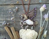 Pegasus necklace