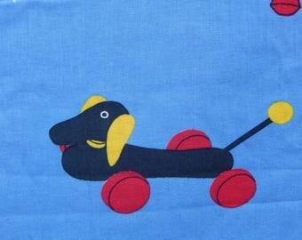 Vintage Brio Toy Fabric
