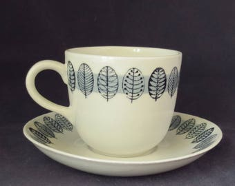 Arabia of Finland, Mocca cup and saucer.