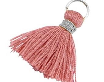Tassels, tassel-3 pcs.-1.8 cm-Color selectable (color: antique rosé)