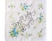 No Ugly Crying Handkerchief