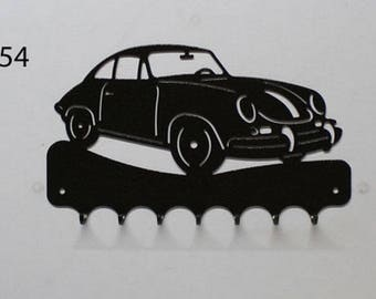 Hangs 26 cm pattern metal keys: Porsche 356