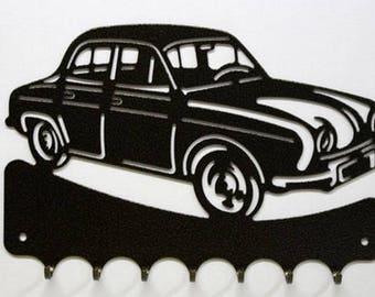 Hangs 26 cm pattern metal keys: Renault Dauphine