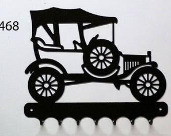 Hangs 26 cm pattern metal keys: ford T