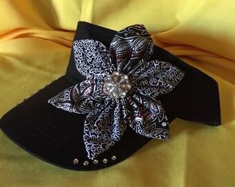 Black visor