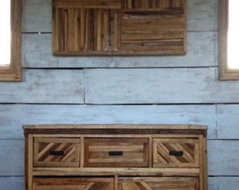 Wood Entertainment Cabinet, Wood Entertainment Center, Reclaimed Wood Entertainment Stand