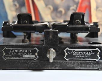 Vintage Griswold Model T Film Splicer