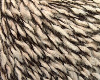 400 gr  Worsted Acrylic Yarn Aran Wool Knitting Yarn Lot Bulk Ceam Brown