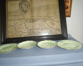 royal albert laurentian 2 saucers 2 side plates