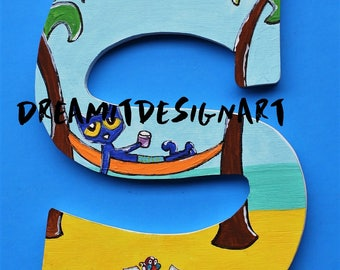 Pete the Cat Stay Groovy Alphabet Letter S
