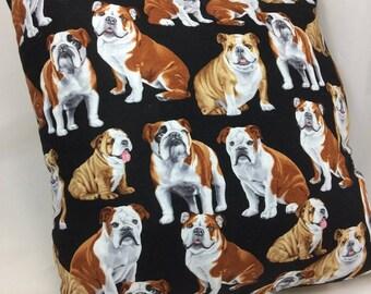 Throw Pillow Accent Pillow Toss Pillow Bulldog English Bulldog Dog Group One Home Decor Gifts Bedding