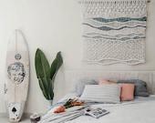 Beach Macrame wallhanging / handmade / Ranran Design / wallart