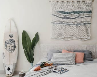 Beach Macrame wallhanging / handmade / Ranran Design / wallart