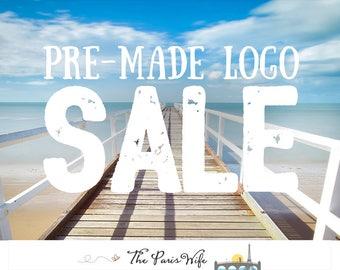 premade logo design photography logo boutique logo website logo blog logo watercolor logo etsy shop logo design wedding monogram logo design