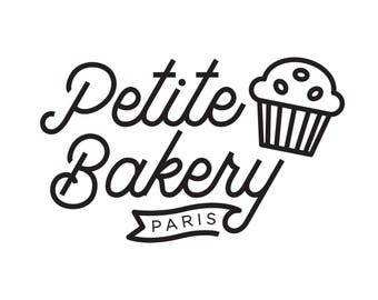 Bakery Pastry Logo-premade logo-logo shop-confectionery or room from the-company brand