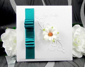 Personalised Birthday Card, Handmade Birthday Card, Birthday Card, Boxed Birthday Card, Personalized Birthday Card, Custom Birthday Card