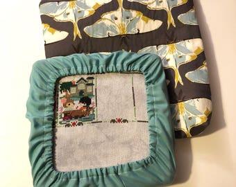 Luna Moth 8x8 Project Bag & Grime Guard