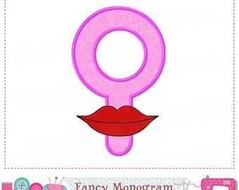 Female Symbol,Valentine's day,Girl applique,Female Symbol design,Girl,Girl design.