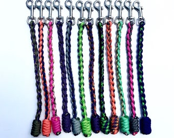 "8"" Paracord Dog Obedience Tab"