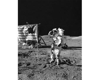 Black and White Vintage Astronaut Photography, Black and White Astronaut Art Prints, Astronaut Wall Art, Vintage Astronaut Poster