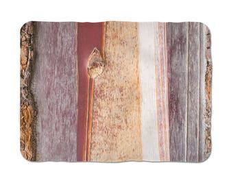 Tree Bark Blanket, Tree Texture Art, Nature Blankets, Bed Throws, Bed Decoration, Fleece Sherpa, Winter Blanket