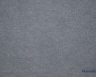Blue grey Terry cloth