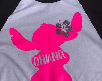 """Lilo & Stitch """"Ohana"""" Tank/Tee/Long Sleeve"""