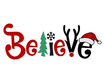 Christmas Decal Etsy
